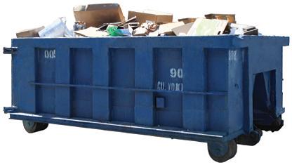 a dumpster